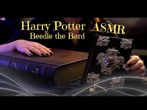 ASMR Harry Potter Beedle the Bard Unboxing and Gentle tapping - No talking | ASMR Relaxation ♥