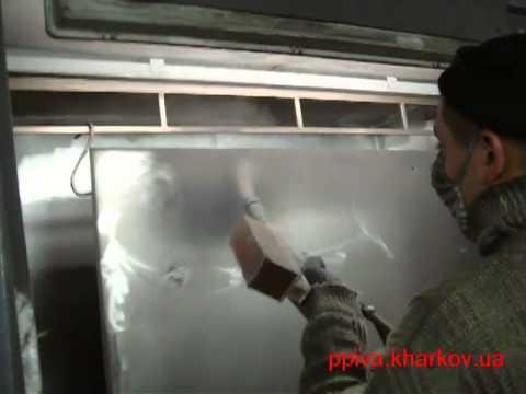 Порошковая покраска дверей своими руками видео