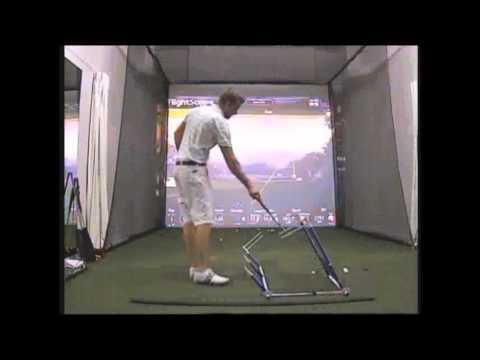 Glyn Meredith Golf Academy Dubai analyses the Slice using V1 Golf