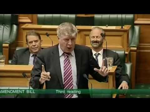 Hilarious Gay Marriage Speech by NZ MP