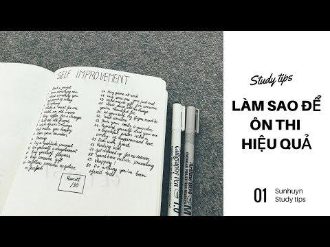 11 BÍ KÍP ÔN THI HIỆU QUẢ BẠN KHÔNG THỂ BỎ QUA ♡ Sunhuyn ♡ Study tips - Thời lượng: 9:10.