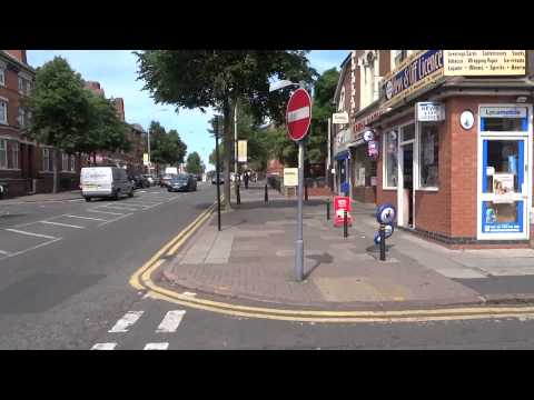 "Walking On Leicester's ""Little India Street"": Belgrave Road & Melton Road, (on A Hot Summer's Day)."