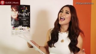Vina Morales does covers of songs by Katy Perry, Miley Cyrus, and Ariana Grande. Subscribe to our YouTube channel! http://bit.ly/PEPYouTubeChannel Know the l...