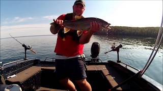 Cold Lake (AB) Canada  city images : 8lb Lake Trout on Light Tackle Cold Lake Alberta Canada