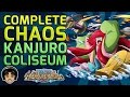 Walkthrough for the Complete Chaos Kanjuro Coliseum [One Piece Treasure Cruise]