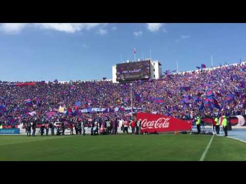 Los de Abajo - Salida U de Chile 08/04/2017 Superclásico - Los de Abajo - Universidad de Chile - La U