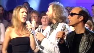 Video Immortality - Celine Dion & Bee Gees LIVE ** Awesome Quality**   @TOTP 1998 MP3, 3GP, MP4, WEBM, AVI, FLV Juli 2018