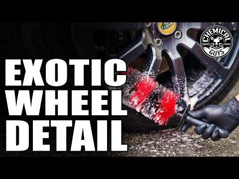 How To Clean And Protect Filthy Wheels - Lotus Evora - Chemical Guys Best Wheel, Rim And Tire Kit