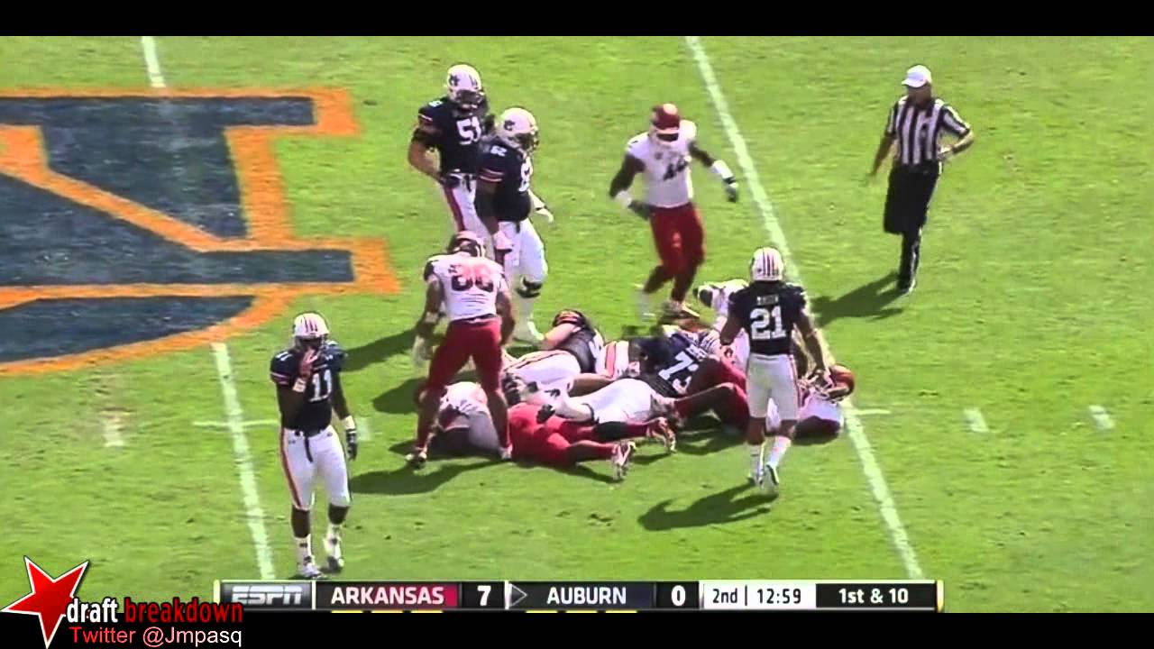 Chris Smith vs Auburn (2012)