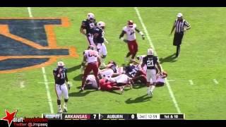 Trey Flowers vs Auburn (2012)