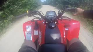 10. Suzuki King Quad 400 FSi riding the Trails of New Hampshire