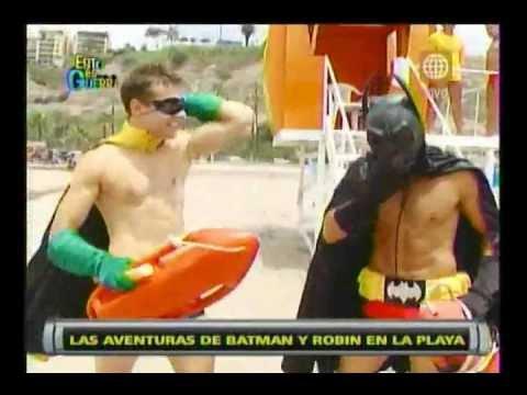 Esto es Guerra de Verano: Batman y Robin salen a las playas - 30/01/2013
