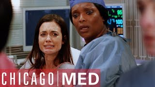Dr Mannings Baby Stops Breathing At Birth | Chicago Med