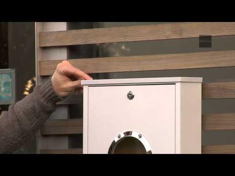 Briefkasten: LETTERMAN mini - Radius Design