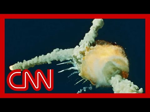 1986 Space Shuttle Challenger Explosion: CNN's Live Broadcast