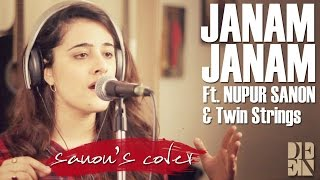 Janam Janam   Dilwale   Cover By Nupur Sanon Ft  Twin Strings