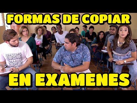 Formas de Copiar en Examenes - JR INN