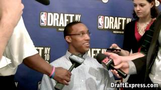 Evan Turner - NBA 2010 Draft Media Day - DraftExpress