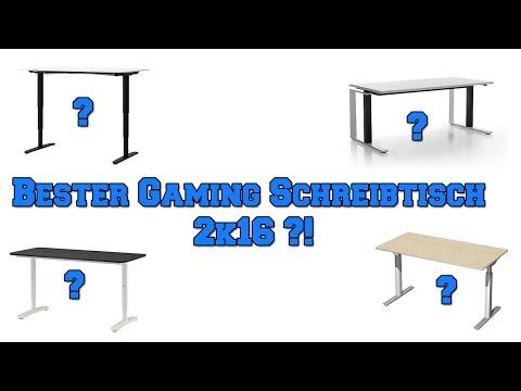 Der beste Gaming Schreibtisch 2k16 | 1080p TAGZ-Germany