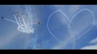 """Video Keren! Tanda """"Cinta"""" dari TNI-AU di Langit NKRI (Aksi Hebat Jupiter Aerobatic Team) MP3, 3GP, MP4, WEBM, AVI, FLV Oktober 2017"""