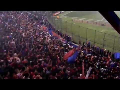 Cerro Porteño (Py) vs Jaguares (Mx) - Hinchada (Copa Libertadores 2011) - La Plaza y Comando - Cerro Porteño