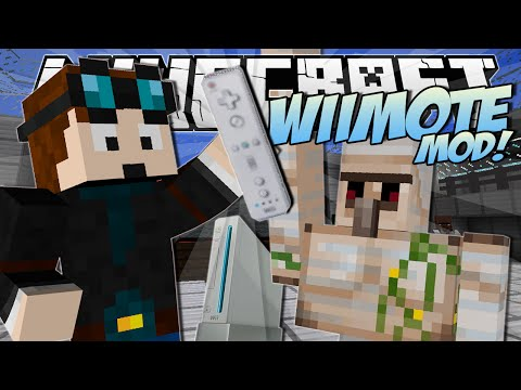 Minecraft   WiiMOTE MOD! (Control ANY Mob, Create Explosions and More!)   Mod Showcase