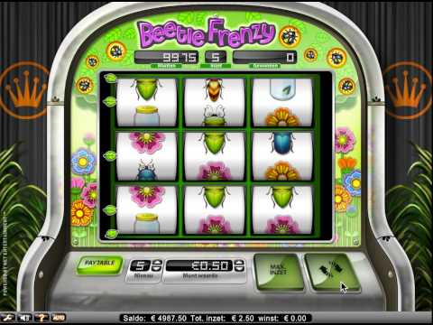 Beetle Frenzy slot, love these bugs!