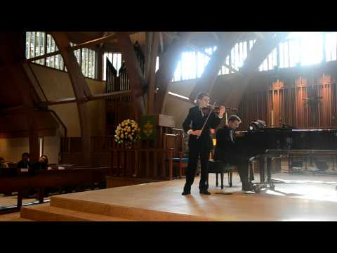 Cameron Lugo wins 2nd prize in the 2012 HHSO-YCC
