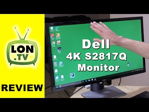 Dell S2817Q 28 Inch 4K (60hz) Monitor Review