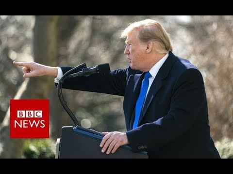 President Trump declares national emergency over border wall - BBC News