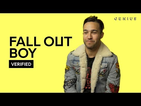 "Fall Out Boy ""Thnks Fr The Mmrs"" Official Lyrics & Meaning 