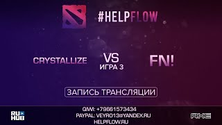 Crystallize vs Fn!, Flow Tournament 1x1, game 3 [Adekvat, Smile]