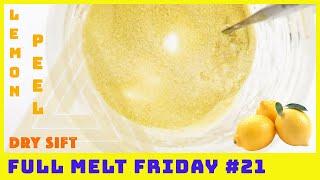 FULL MELT DRY SIFT KIEF! 🍋 Peel | Full Melt Friday #21 by The Cannabis Connoisseur Connection 420
