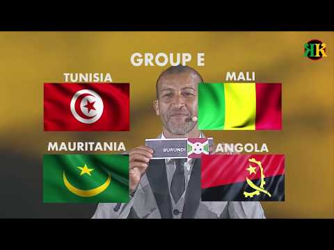 Total Africa cup of Nations 2019 (COMPLETE GROUP DRAWS) #AFCON2019