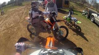 7. first ride ktm 2008  144 sx