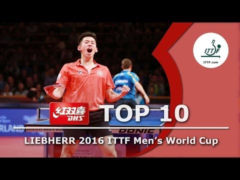 DHS ITTF Top 10 - 2016 Men's World Cup