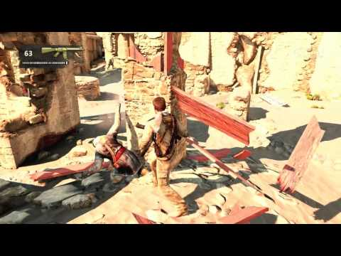Обзор игры Uncharted 3: Drake's Deception