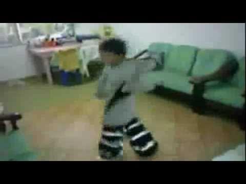 Niño Bailando Shuffle !!Impresionante!!!