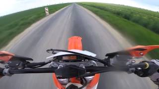 8. KTM 250 EXC TOP SPEED