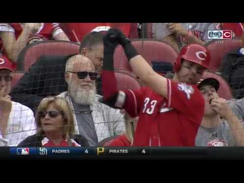 Jim Day's full interview with David Letterman at Cincinnati Reds game