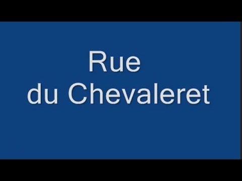 Rue du Chevaleret Paris Arrondissement 13e