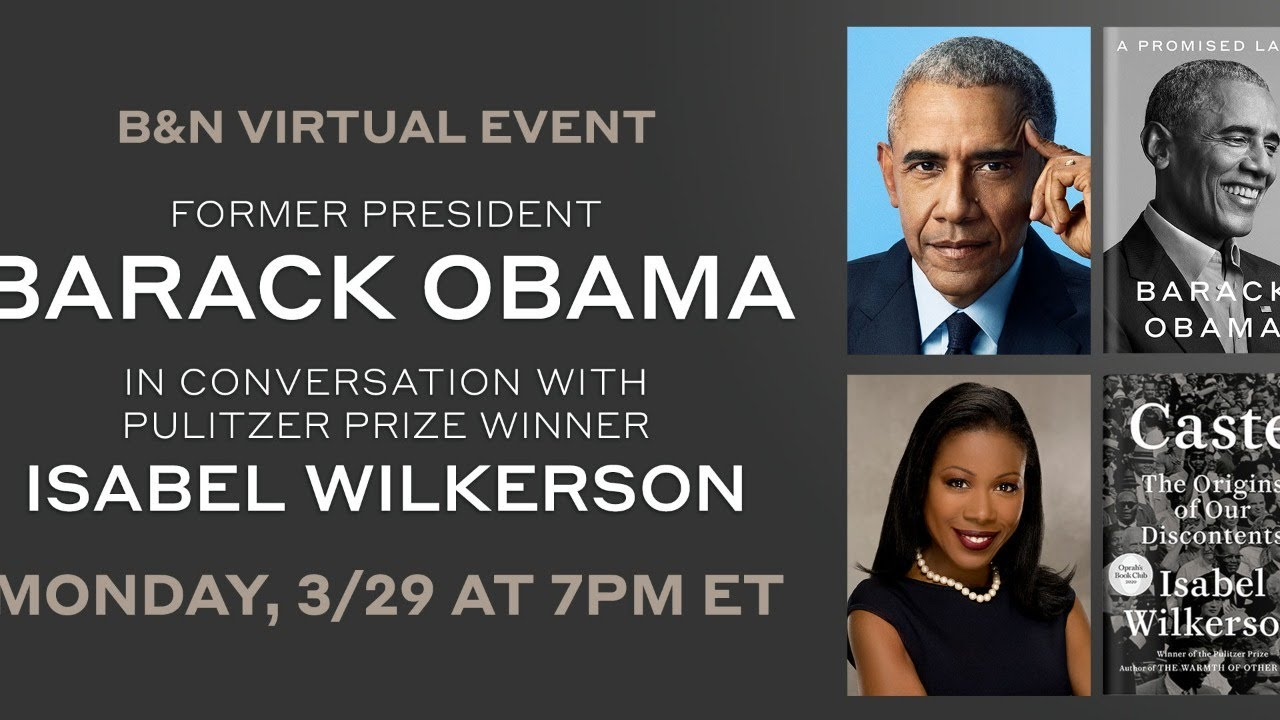 A Promised Land, Barack Obama in conversation with Isabel Wilkerson