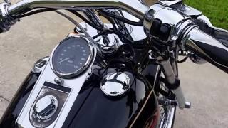 1. 1997 Harley Davidson FXDWG Wide Glide cold start