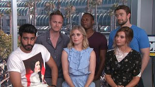 More from Entertainment Tonight: http://bit.ly/1xTQtvw  ET caught up with the cast of 'iZombie' at Comic-Con in San Diego on Friday where they teased season 4 of the hit CW show.
