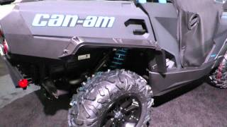 8. 2016 Can Am Commander XT Black and Blue