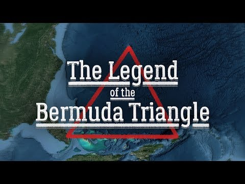 an analysis of the legendary bermuda triangle in the atlantic ocean
