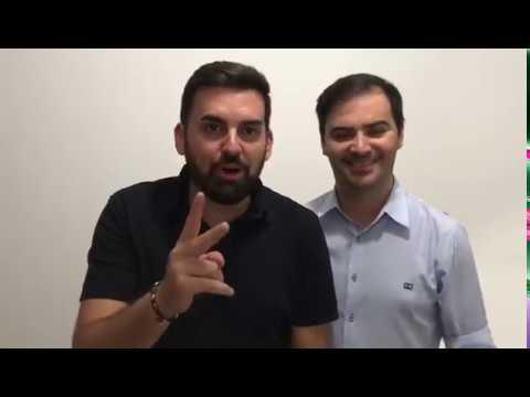 Alvaro e Daniel em Umuarama
