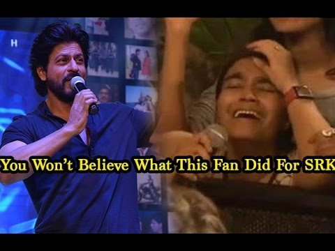 Shah Rukh Khan's Crazy Fan Crying And Pleading For