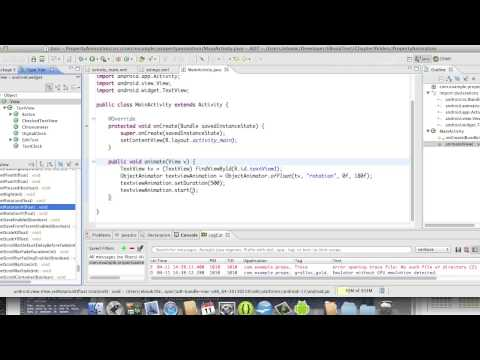 Android Development Course - Chapter 31 - PropertyAnimation
