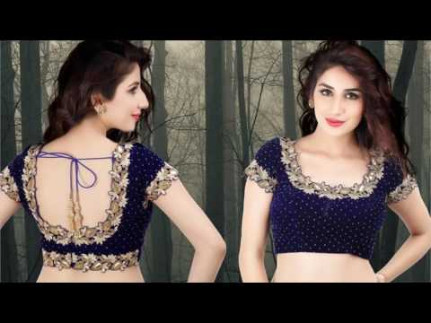 Video Latest Blouse Designs Front And Back download in MP3, 3GP, MP4, WEBM, AVI, FLV January 2017